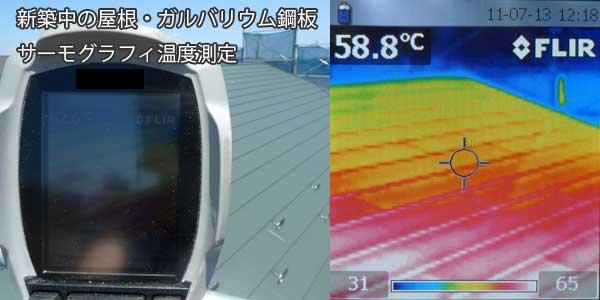 roof temperature